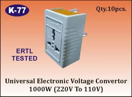 K-77 Universal Electronic Step Down Voltage Converter
