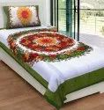 Single Cotton Bed Sheet without Pillow Cover