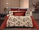 Cotton Printed Hotel Double Bedsheet