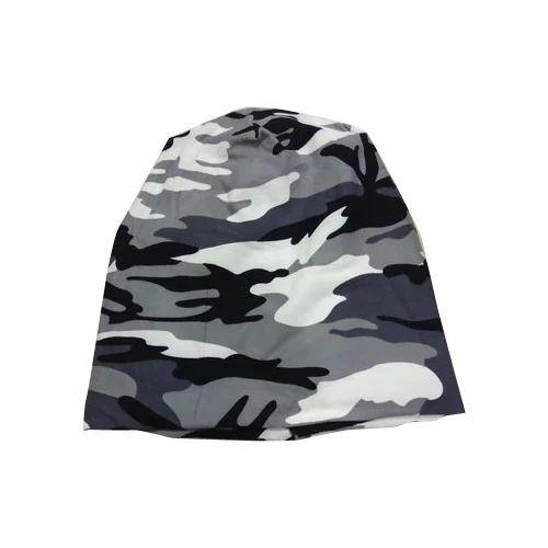 Mens Woolen Printed Beanie Cap at Rs 60  piece  834bd389514