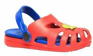 Bubblegummers Red Sandals For Boys