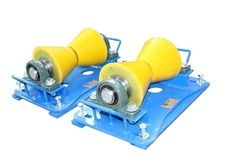 Polyurethane Coated Cone Type Pipe Roller