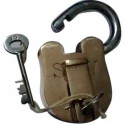 Brass Padlock Set