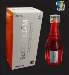 Amino Acids with Lycopen Methylcobalamin Multivitamin Syrup, Bottle Size: 200 ml