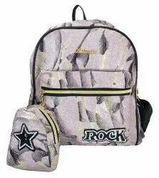 Shoulder Glittering Girls Backpack