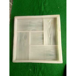 5 Partition Chequered Tile Silicone Moulds
