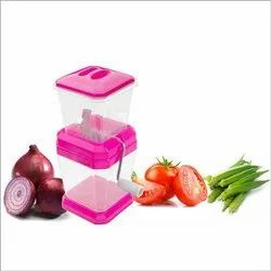 Plastic Onion Vegetable Cutter for Kitchen
