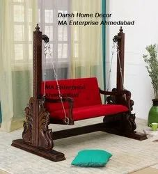 Living Room Wooden Swing Jhula