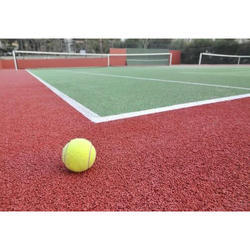 Tennis Court Acrylic Flooring