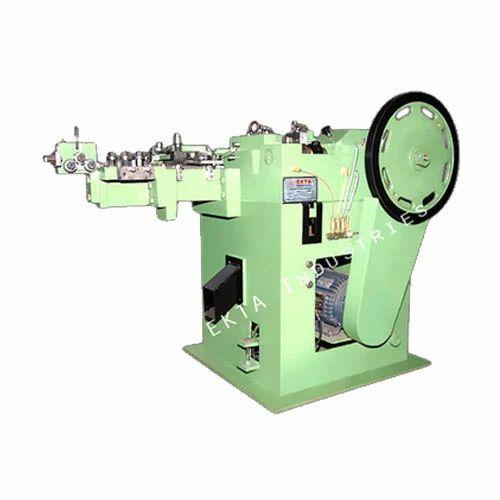 Ekta Industries - Exporter of Nail Making Machine & Vertical Type ...