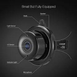 SURYA PORTABLE Night Vision Two Way Conversation Micro Camera, Camera Range: 10 to 15 m