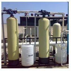 Industrial Demineralised Water Treatment Plant (WTP)