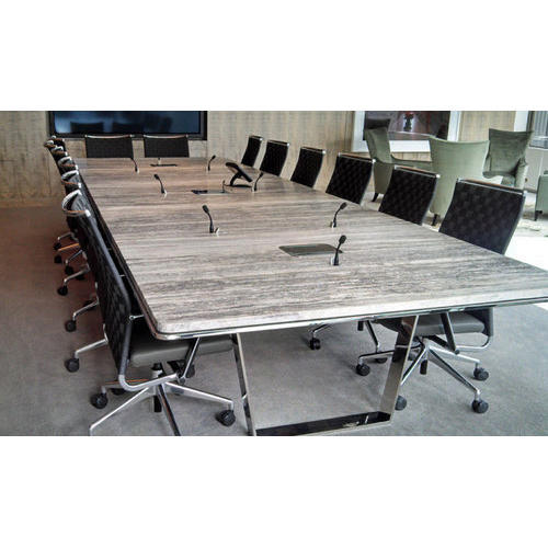 Wooden Rectangular Conference Room Table Warranty Year Rs - Rectangular conference room table