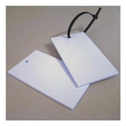 Plastic Hang Tag