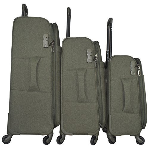 9e81151f82c8 Polo Shine Gucci Fabric (1680 D) Luggage Trolley Suitcase