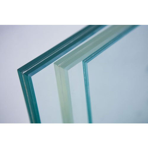 10-50 Square Feet Laminated Toughened Glass