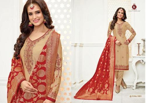 a6c64ed5e2 Embroidered Georgette With Banarasi Dupatta Suits, Rs 1299 /piece ...