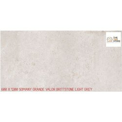 600 x 1200 Somany Brittstone Light Grey