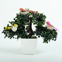 Hyperboles Artificial Potted Plant