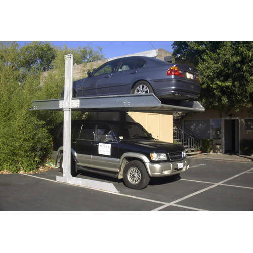 Outdoor Car Lift >> Outdoor Car Stacker At Rs 225000 Unit Hydraulic Car Lift Id