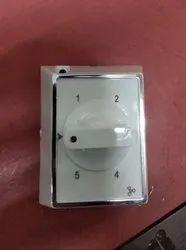 Modular White 5 Step Fan Regulator, 100 Watt