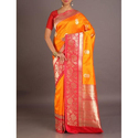 Silk Party Wear, Wedding Wear Ladies Banarasi Saree