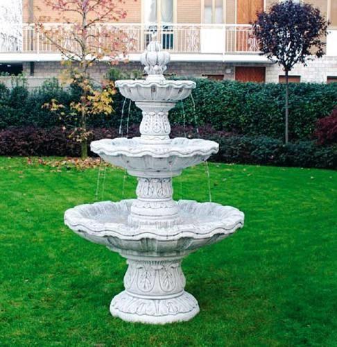 Outdoor Marble Garden Fountain