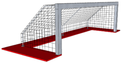 Water Polo Goal Post Stag WP