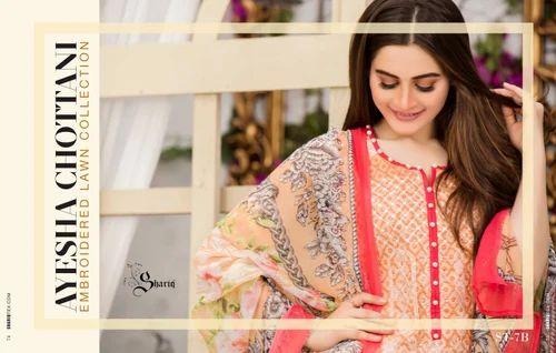 d9efc8bde6 Casual Wear LAWN Pakistani Suits, Rs 1100 /piece, Namrah Fashion ...