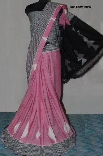 abfa0bcd1b7217 Pochampally Ikkat B Ikkat Cotton Saree