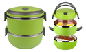 Green 2 Layer Lunch Box