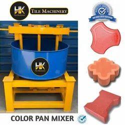 Color pan mixer