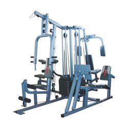 Mild Steel Multi Station Gym Equipment, Number Of Stations: 6 Stations