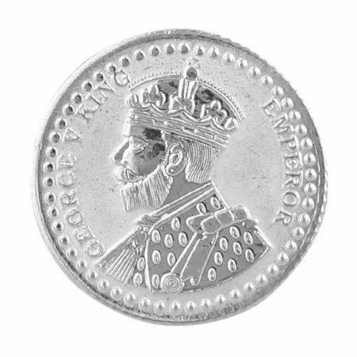 Round Silver Coin