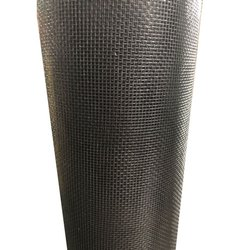 Stainless Steel Black Mosquito Net, Packaging Type: Roll