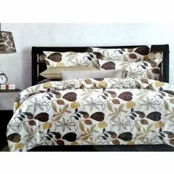 Nature Themed Cotton Double Bed Sheets