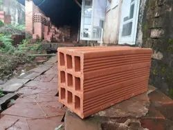 Solid Blocks Clay Block, For Partition Walls, Size: 16 x 8 x 4 inches