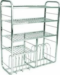 Royal Stainless Steel Kitchen Rack, 39x30