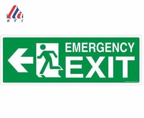 KTI Emergency Exit Light