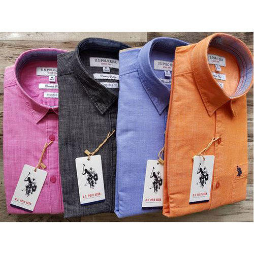 0415b058 Pure Cotton Men's Readymade Shirt, Rs 325 /piece, Gangsta | ID ...