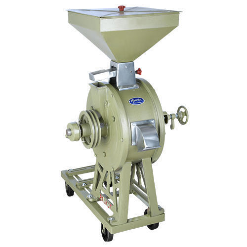 3hp Single Phase Vertical Flour Mill- AVC-BP-14' , Model Name/Number: Avc-bp-14'