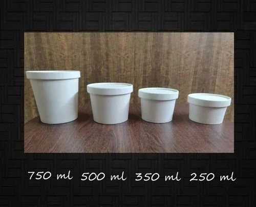 Biodegradable Round Paper Container