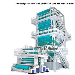 Plastic Film Monolayer Blown Film Extrusion Line