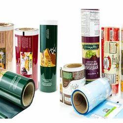 Printed Laminated Plastics Rolls