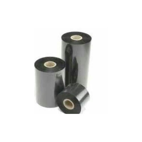 105mm X 300 Mtr Black Wax Resin Ribbon, Packaging Type: Roll