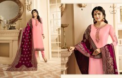 Jaquard Dupatta Suits