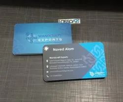 Paper Multicolor Business Card Printing Service, Offline, Size: 3.5 X 2 Inch