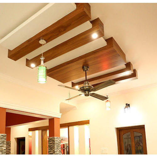 Wooden False Ceilings at Rs 80/square feet | Wooden False Ceiling ...