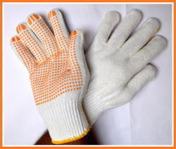 Fine Quality Dotted Hand Gloves