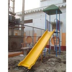 Playground Slide With Canopy